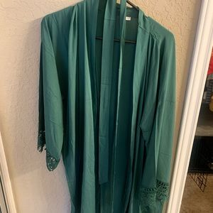 Other - Green bridesmaid robe size L